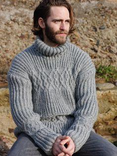 Threadbare Mens Reynolds Full Zip Up Cardigan Knitted Funnel Neck Collar Sweater