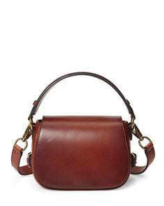 Small Sullivan Saddle Bag - Polo Ralph Lauren Top Handles & Satchels…