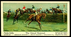 Cigarette Card - The Grand National | Flickr - Photo Sharing!