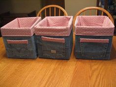 O tecido de nossos jeans velhos é ideal para reciclar. Veja que lindas ideias! - Casa da Vovó