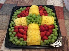 Cross Fruit Tray...