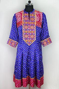 Purple Silk Formal Anarkali