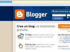3 pasos para crear un blog en Blogger - en Español