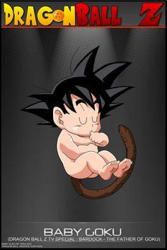 Dragon Ball Z - Baby Goku by DBCProject