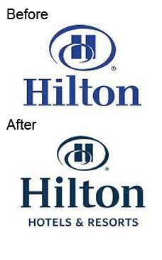 Hilton logo evolution