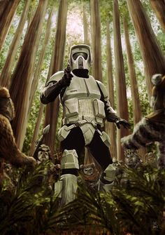 Trooper vs. Ewoks