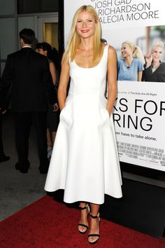 Gwyneth Paltrow in Lanvin  - Little White Dresses - May 23, 2014 Cannes
