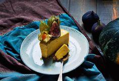Pumpkin cheesecake without baking śmietankowiec dyniowy