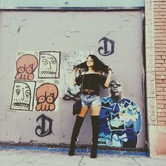 We love Cierra Ramirez's style. Her boots are on point! | The Fosters