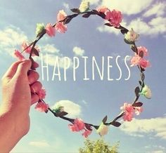 Image result for happiness and flowers