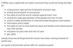 "Men's ""Rights Activists."" Yup."