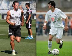 Gareth Bale in 2014 … and 2007