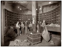 Sorting...Interior: N.Y. Post Office
