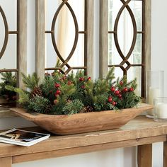 Looking for the Classic Dough Bowl Christmas Greenery Filler to help Deck Your Halls this season? Shop Ballard Designs for fun new Christmas and Holiday items. Get the Classic Dough Bowl Christmas Greenery Filler here and show off your festive style!