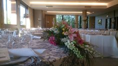 #bodas ideales en el #Parador de #Soria #montaje #mesa #ideal #flores #wedding #love #decoración #bride