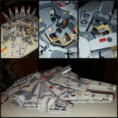 Build complete looks awesome!!! #lego #milleniumfalcon #lego #darthvader #hansolo #starwars #ps4 #gamerlife #gamer #geek #nerd #gameroom #wiiu #nintendo #collector #awesome #fun #hobby #japan #lucasfilms #disney #lootcrate #games #videogames #adventure #amazing #instalike #gamerguy #followme
