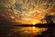 Never-Before-Seen Smeared Sky Photos by Matt Molloy - My Modern Metropolis Beautiful Sky, Beautiful World, Beautiful Landscapes, Simply Beautiful, Sky Photos, Photos Du, Time Lapse Photography, Modern Metropolis, Sky And Clouds