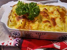 Kääpiölinnan köökissä: Arkinen jauheliha-perunasosevuoka