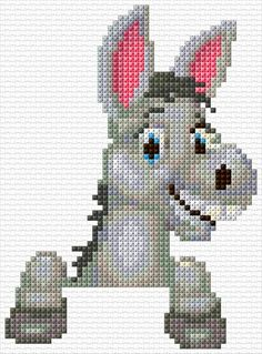 51 x 69 stitches 18 colors Geek Cross Stitch, Funny Cross Stitch Patterns, Cross Stitch Charts, Cross Stitch Designs, Cross Stitch Embroidery, Loom Patterns, Knitting Patterns, Cross Stitch Calculator, Subversive Cross Stitches