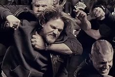"""In the first teaser for season 6 of """"Sons of Anarchy,"""" the club doesn't seem to be getting along well at all. After everything that happened last season, it's not surprising to see them brawling with each other."""