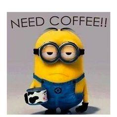 Mornin'. Gimme some coffee.