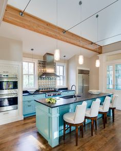The Nested Neighbor - traditional - Kitchen - Other Metro - Phi Home Designs