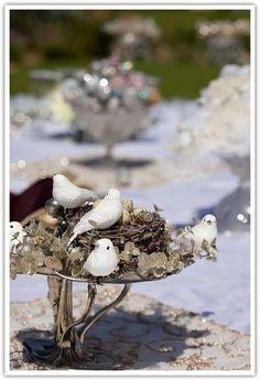 with mini doves! Wedding Sets, Wedding Ceremony, Haft Seen, Persian Wedding, Wedding Day Inspiration, American Wedding, Wedding Decorations, Table Decorations, Wedding Stuff
