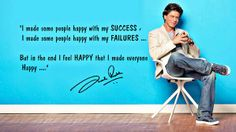 Embedded image permalink-One of SRK's best quotes.