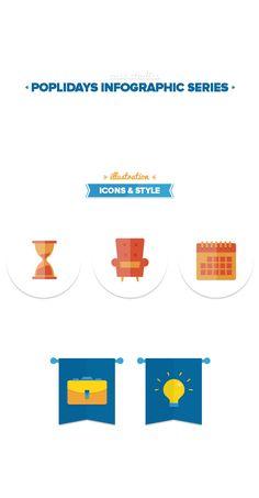 Poplidays Infographics on Behance