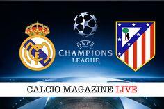 Real Madrid-Atletico Madrid: cronaca diretta risultato e tabellino in tempo reale