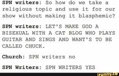 SPN writers, yes!
