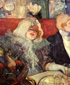 El postimpresionista Henri de Toulouse-Lautrec y La noche de París