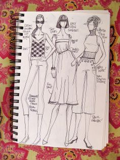 IMG_4616 by What I Wore, via Flickr---good ideas for croquis