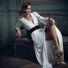 Jessica Alba | Mark Seliger's Vanity Fair Oscar Party Portrait Studio