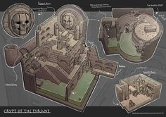 Crypt of the Tyrant 💀 Happy Friday everyone! Anyone partying up this weekend? Fantasy Map, Fantasy World, Isometric Map, Rpg Map, Dnd 5e Homebrew, Map Maker, Adventure Map, Pathfinder Rpg, Dnd Monsters