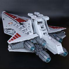LEPIN Series The UCS Rupbulic Star Destroyer Wars Cruise Building Blocks Toys - Blocks