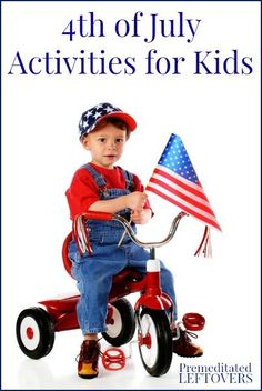 4th of July Activities for Kids - fun activities to help you teach your children about Independence Day.  Re-pinned by DJ Mike Berrios
