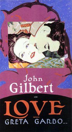 Greta Garbo. Love, 1927