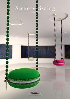 Cafe Interior Design, Cafe Design, Store Design, Funky Furniture, Unique Furniture, Furniture Design, Metal Bistro Chairs, Bakery Design, Deco Design
