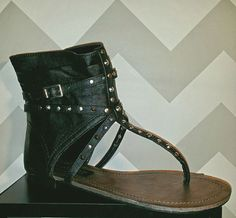 Black sandals in Clothing, Shoes & Accessories   eBay Only 1.99
