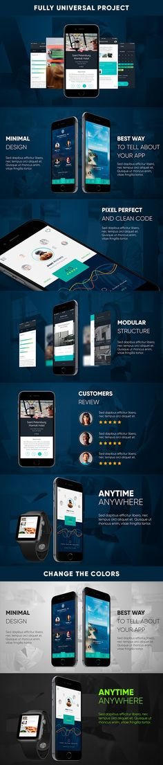 company profile clean business after effects template | after, Presentation templates