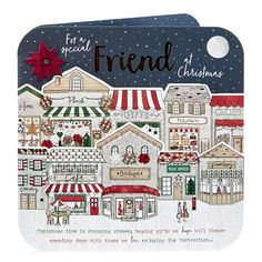 Exquisite Collection Christmas Card - For A Special Friend | Card Factory
