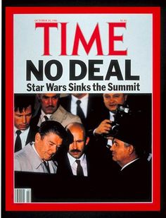 TIME Magazine Cover: Ronald Reagan & Mikhail Gorbachev - Oct. 20, 1986