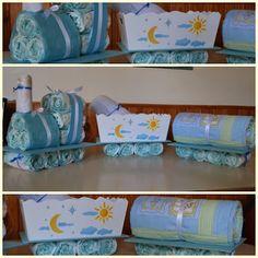 Bonita idea para decorar tu fiesta Baby Shower #babyshower #decoracion