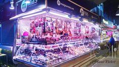 La Boqueria Mercat in Barcelona. Review link in bio! http://ift.tt/24sZ233 #Travel #Foodie #Wanderlust #Blog