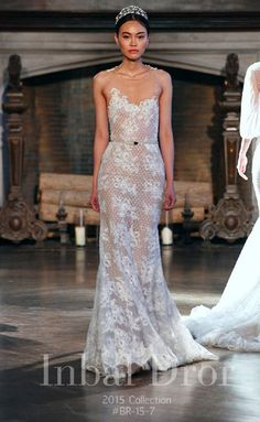 These Wedding Dresses Are For Brides Who Dare To Go Bare: Inbal Dror Fall 2015