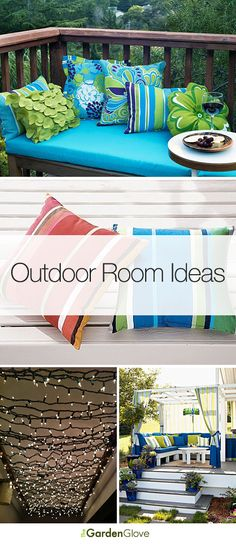 Outdoor Room Ideas • Tips & Tutorials! #home #decor #outdoor #room #ideas #tips #tutorials