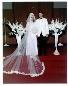 Vintage Brides — 1969 newlyweds