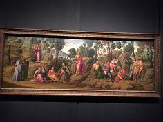 """Francesco Granacci (Francesco di Andrea di Marco), """"Saint John the Baptist Bearing Witness,"""" 1504-07, Metropolitan Museum of Art"""
