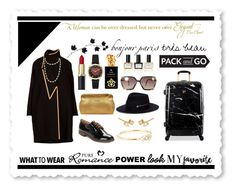 Pack and Go: Paris Fashion Week by igiulia on Polyvore featuring Karl Lagerfeld, Heys, Stone Paris, Zoë Chicco, Chanel, Larose, Ted Lapidus, Sisley, Lipault and Balmain